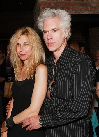 Jim Jarmusch with cute, Wife Sara Driver