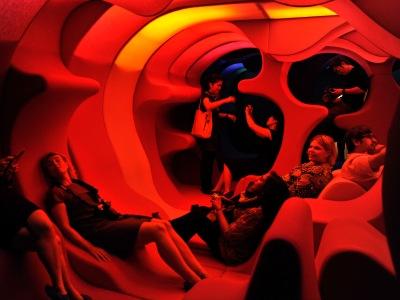 Verner Panton | Phantasy Exposed | Revel in New York created by ...