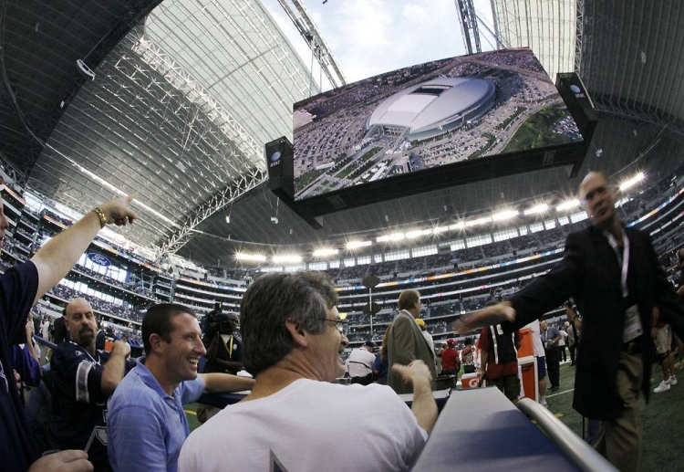 Cowboys Stadium Art- Source: NBC Sports.com