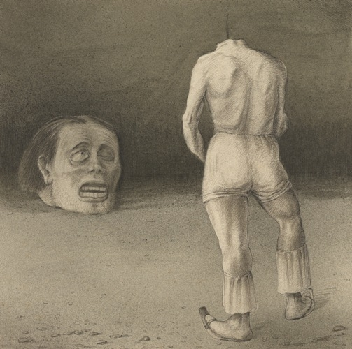 Alfred Kubin, Self-Observation, ca. 1901-02- Source: calitreview.com