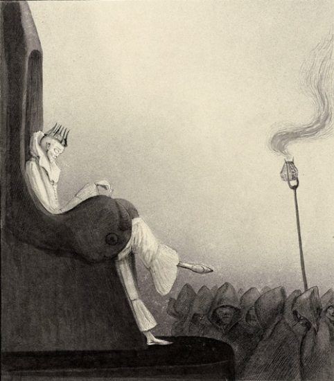 Alfred Kubin, The Last King, ca. 1902 - Source: calitreview.com