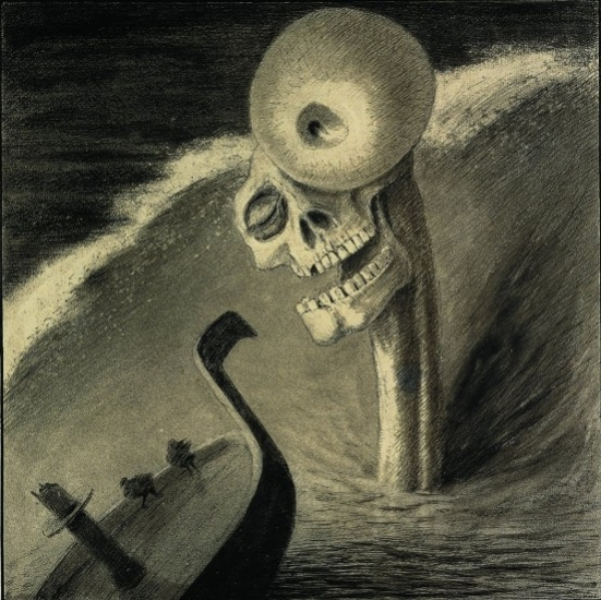 Alfred Kubin, Fright, 1901 - Source: www.thearttribune.com