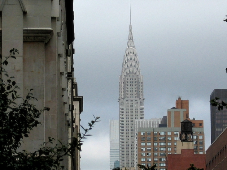 The Chrysler Building - Source: www.flickr.com/photos/redclayproject/