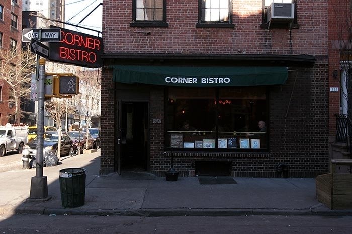 Corner Bistro - Source: ontheinside.info