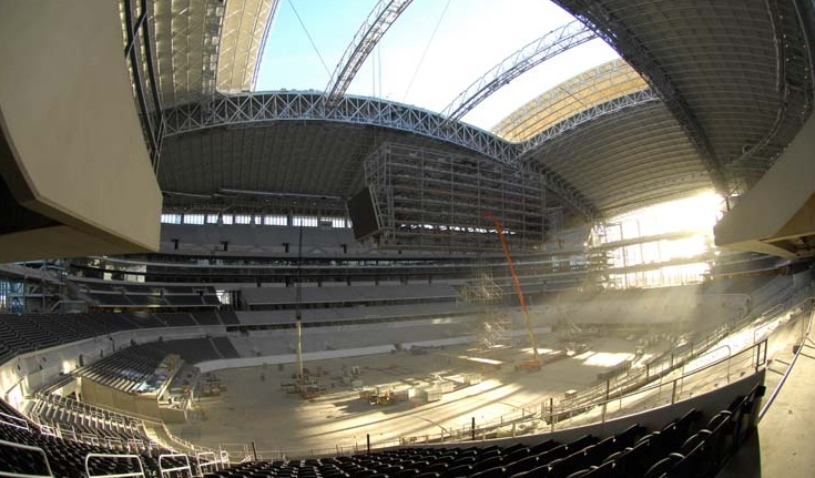 Cowboys Stadium - Source: stadium.dallascowboys.com