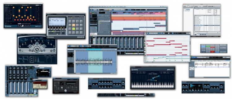 Cubase - Source: www.steinberg.net