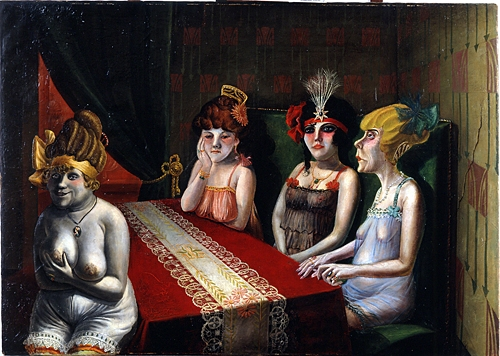 The Salon I, 1921 Otto Dix (German, 1891–1969)