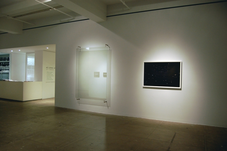 As Long as it Lasts [Installation view]