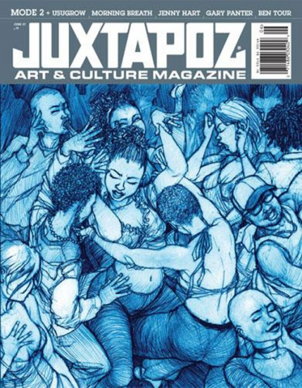 Juxtapoz Magazine - Source: www.knowngallery.com