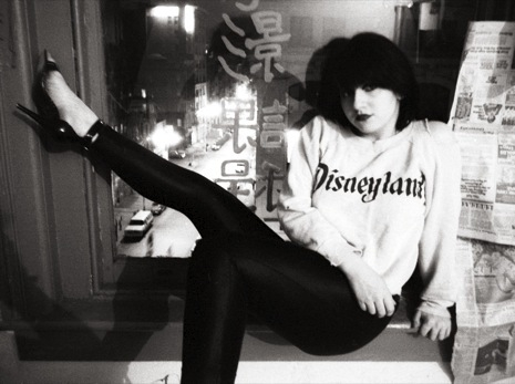 """Lydia Lunch, Delancey Street Loft, 1978,"" by Godlis, in ""No Wave,"" at KS Art."
