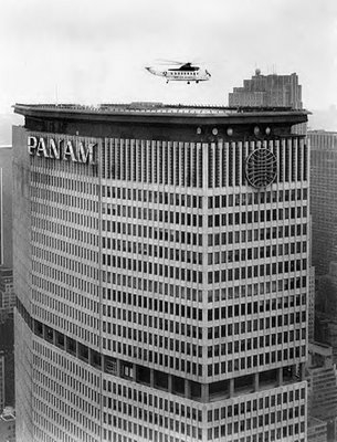 Pan Am Building - Source: theboweryboys.blogspot.com