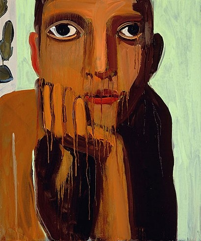 Cheim & Read Gallery - Chantal Joffe OLIVE, 2007