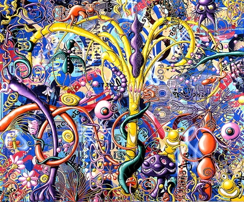 Kenny Scharf - Source: www.supertouchart.com