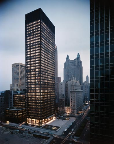 Seagram Building - Source: Photo by Ezra Stoller